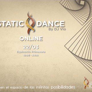 ECSTATIC DANCE ONLINE 22 MARZO