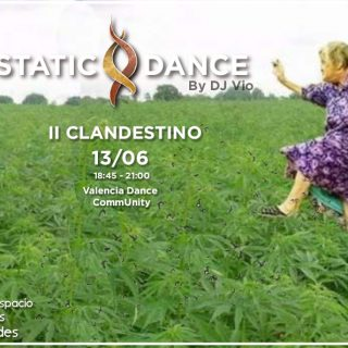 ecstatic dance CLANDESTINO 13 Junio